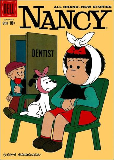 Nancy and Sluggo 170-A by Gold Key