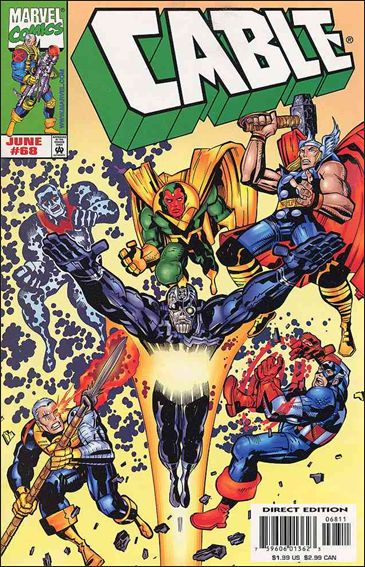 Cable (1993) 68-A by Marvel