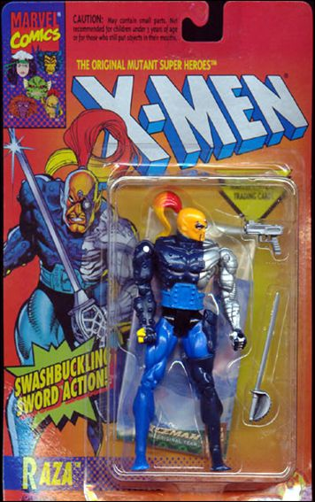 "X-Men 5"" Action Figures Raza by Toy Biz"