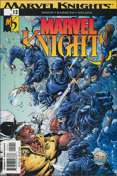 Marvel Knights (2000) 12-A by Marvel