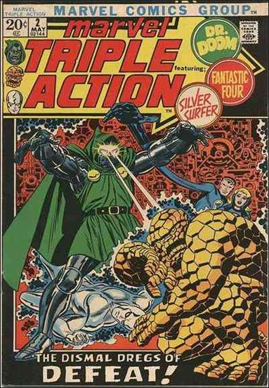 Marvel Triple Action (1972) 2-A by Marvel