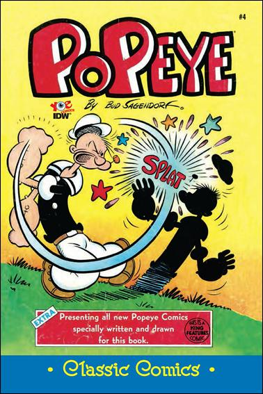 Classic Popeye 4-A by IDW