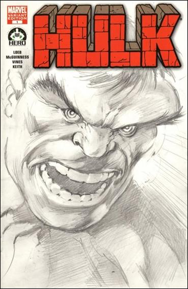 Hulk 100 (Hero Initiative) Cover Project 7-B by Marvel