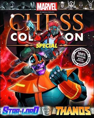 Marvel Chess Collection Specials (UK)  3-A