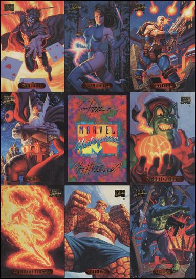 1994 Marvel Masterpieces (Promo) nn 2-A by Fleer