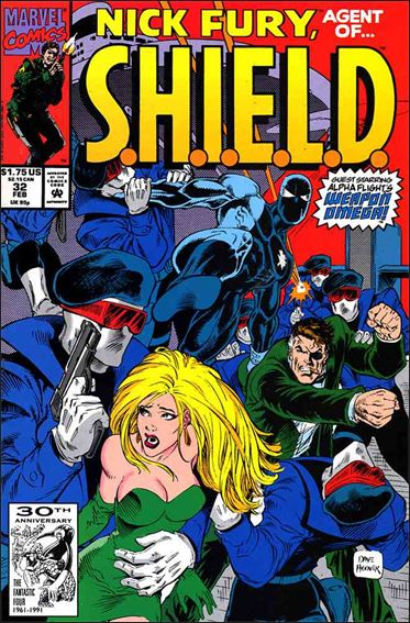 Nick Fury, Agent of S.H.I.E.L.D. (1989) 32-A by Marvel