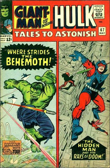 Tales to Astonish (1959) 67-A by Marvel