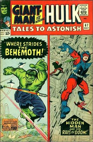 Tales to Astonish (1959) 67-A