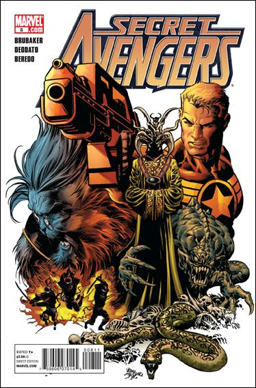 Secret Avengers (2010) 8-A by Marvel