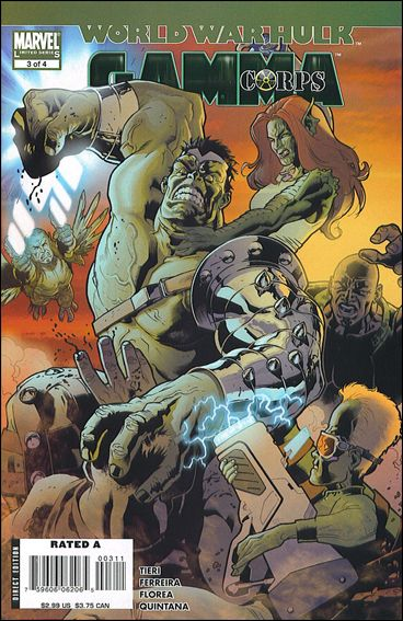 World War Hulk: Gamma Corps 3-A by Marvel