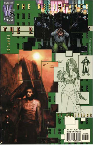 Resistance (2002) 5-A by WildStorm