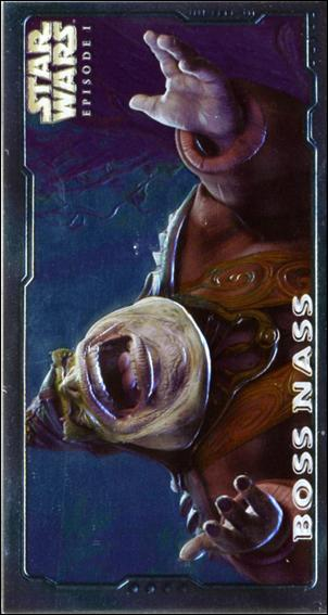 Star Wars: Episode I Widevision: Series 2 (Embossed Foil Subset) E6-A by Topps