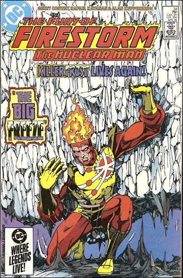 Fury of Firestorm 34-A by DC