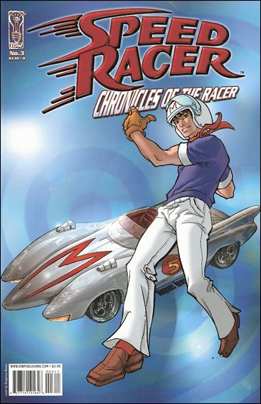 Speed Racer: Chronicles of the Racer 3-B by IDW