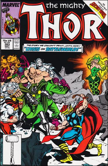 Thor (1966) 383-A by Marvel