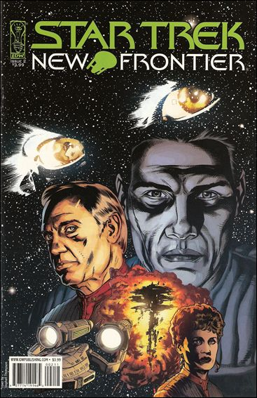 Star Trek: New Frontier 2-A by IDW