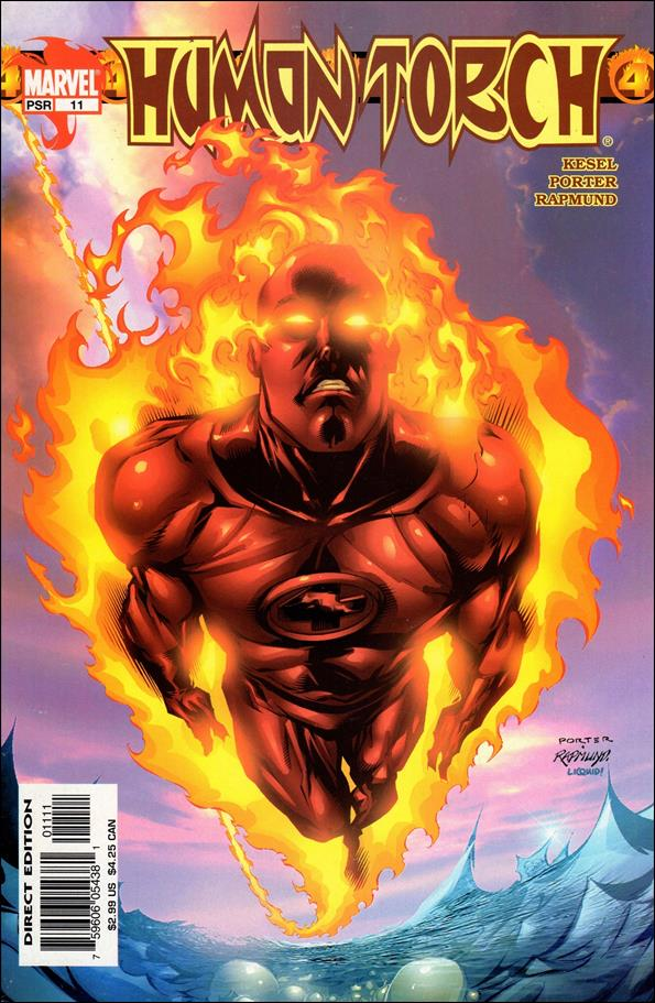 Human Torch (2003) 11-A by Marvel