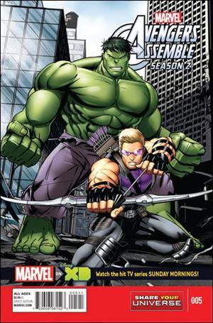 Marvel Universe Avengers Assemble Season 2 5-A