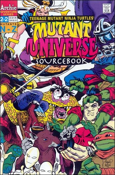 TMNT Mutant Universe Sourcebook 2-A by Archie