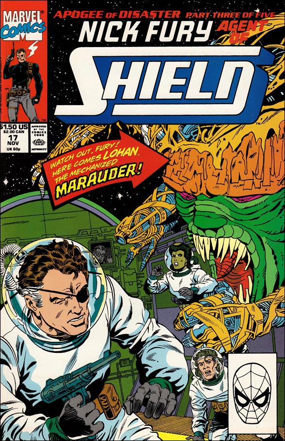 Nick Fury, Agent of S.H.I.E.L.D. (1989) 17-A by Marvel