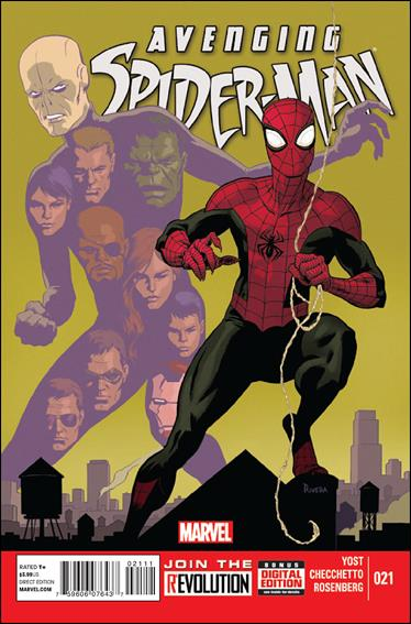 Avenging Spider-Man 21-A by Marvel