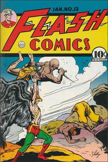 Flash Comics (1939) 13-A by DC