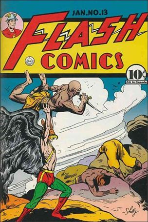 Flash Comics (1939) 13-A