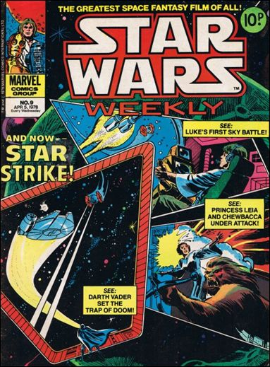 Star Wars Weekly (UK) 9-A by Marvel UK