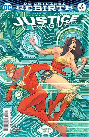 Justice League (2016) 9-B
