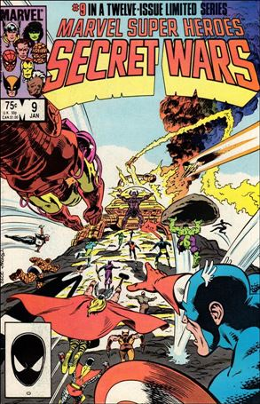Marvel Super Heroes Secret Wars 9-A
