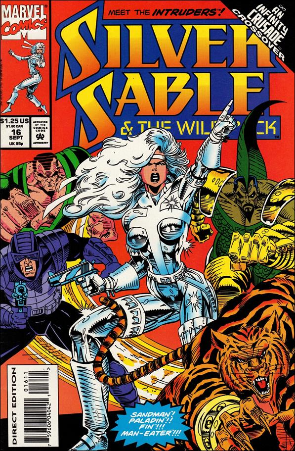 Silver Sable & The Wild Pack 16-A by Marvel