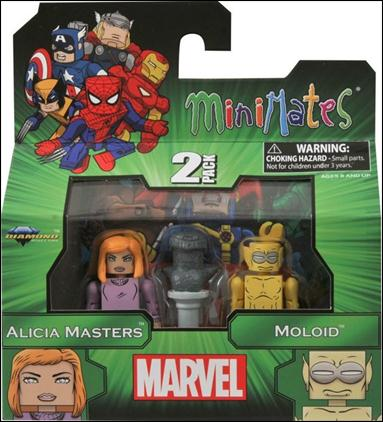 Marvel Minimates Alicia Masters and Moloid by Diamond Select