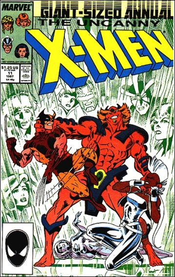 Uncanny X-Men Annual 11-A by Marvel