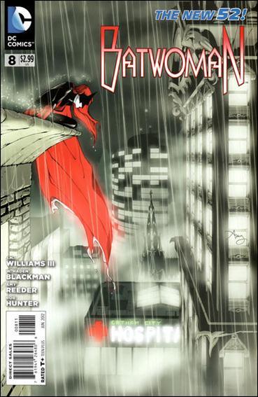Batwoman 8-A by DC