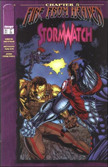 StormWatch (1993) 35-A by Image