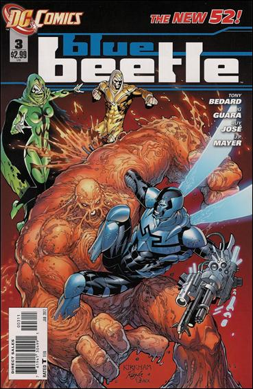 Blue Beetle (2011) 3-A by DC