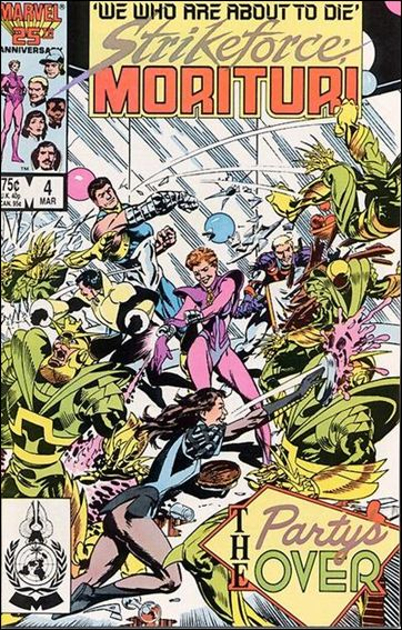 Strikeforce: Morituri 4-A by Marvel