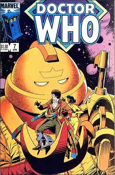 Doctor Who (1984) 7-A by Marvel