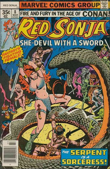 Red Sonja (1977) 8-A by Marvel