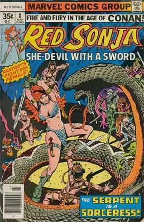 Red Sonja (1977) 8-A