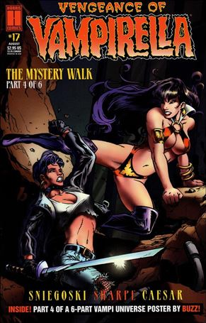 Vengeance of Vampirella 17-A