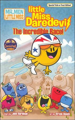 Little Miss Daredevil: The Incredible Race nn-A