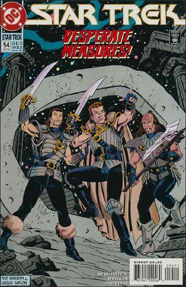 Star Trek (1989) 54-A by DC