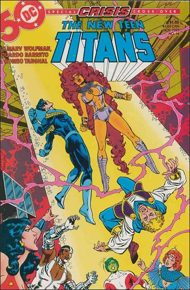 New Teen Titans (1984) 14-A by DC
