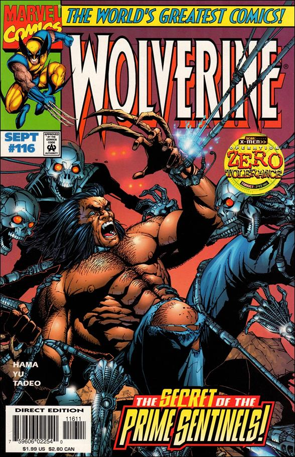 Wolverine (1988)  116-A by Marvel