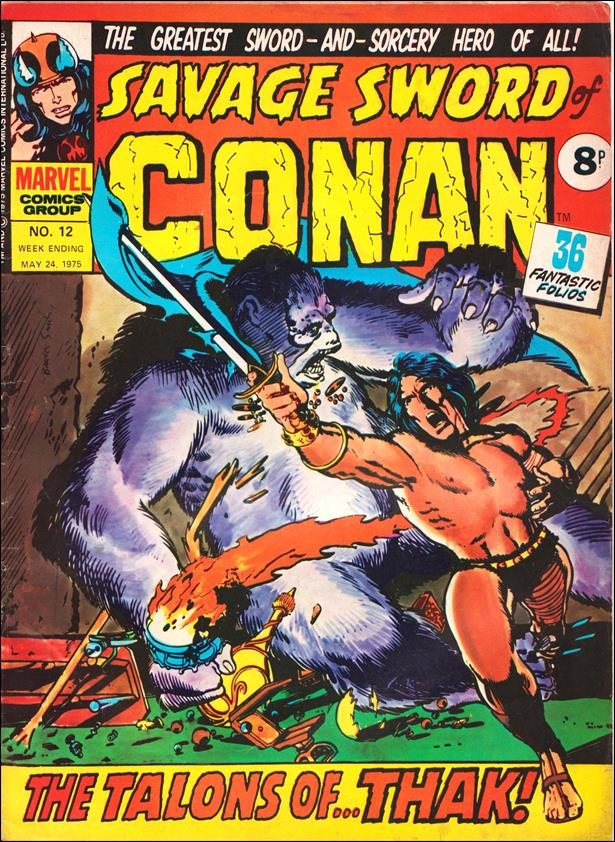 Savage Sword of Conan (UK) (1975) 12-A by Marvel UK