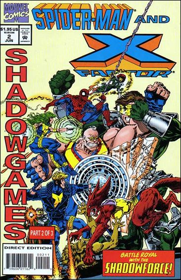 Spider-Man and X-Factor: Shadowgames 2-A by Marvel