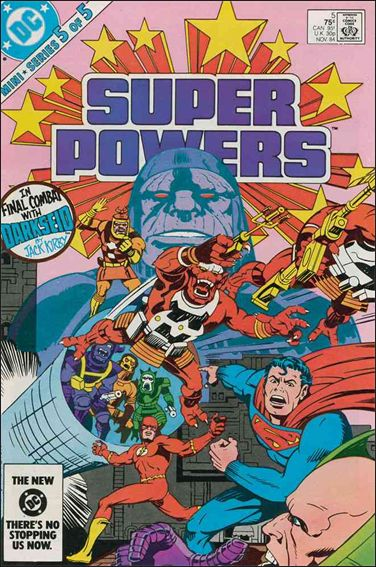 Super Powers (1984) 5-A by DC