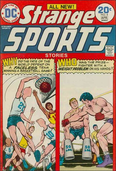 Strange Sports Stories (1973) 4-A by DC