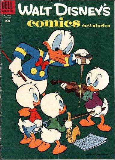 Walt Disney's Comics and Stories (1940) 172-A by Dell